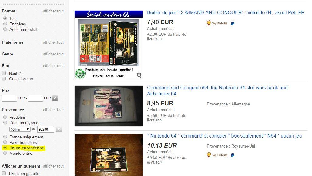 ebay C&C