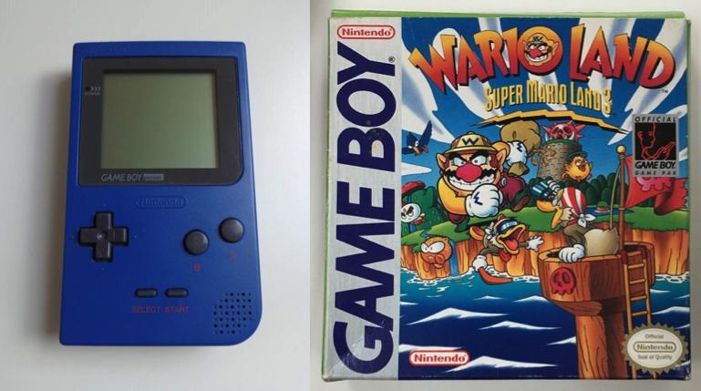 Game Boy Pocket Wario Land