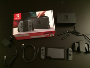 Unboxing-Switch-Manette