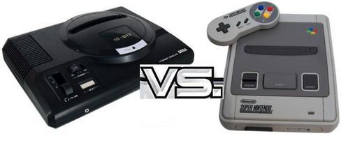 Mega Drive VS Super Nintendo