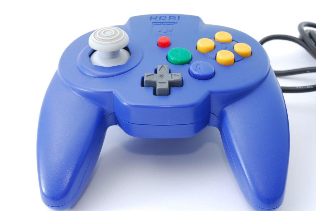Manette Hori Nintendo 64 Posée