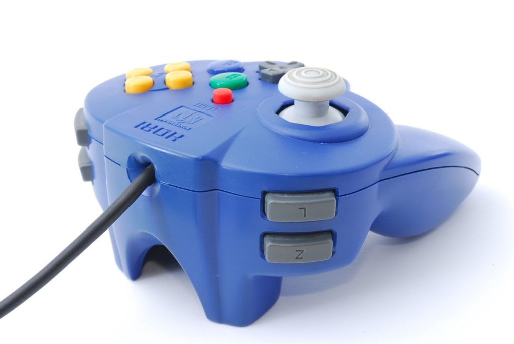 Manette Hori Nintendo 64 Vue arrière