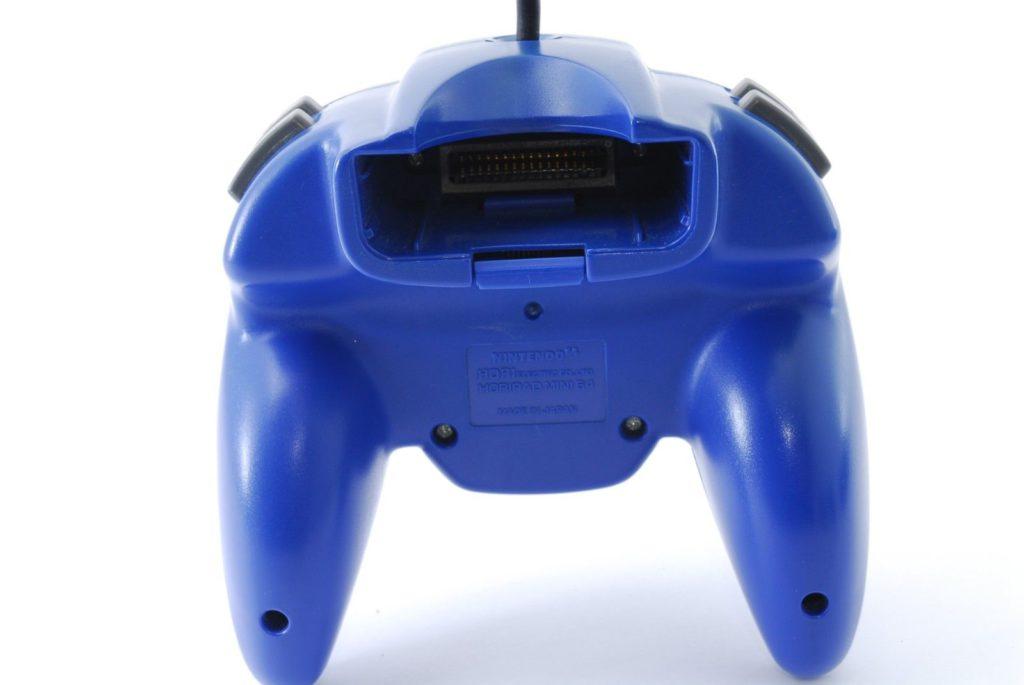 Manette Hori Nintendo 64 Vue de dos