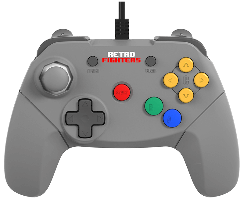 Manette de Nintendo 64 par Retrofighters