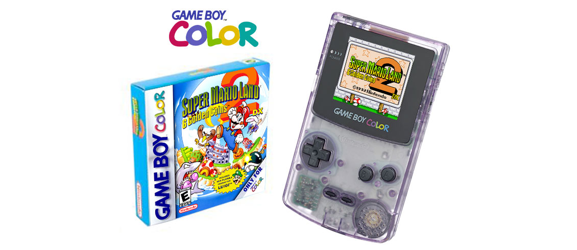 Couverture de Super Mario Land 2 DX en couleur