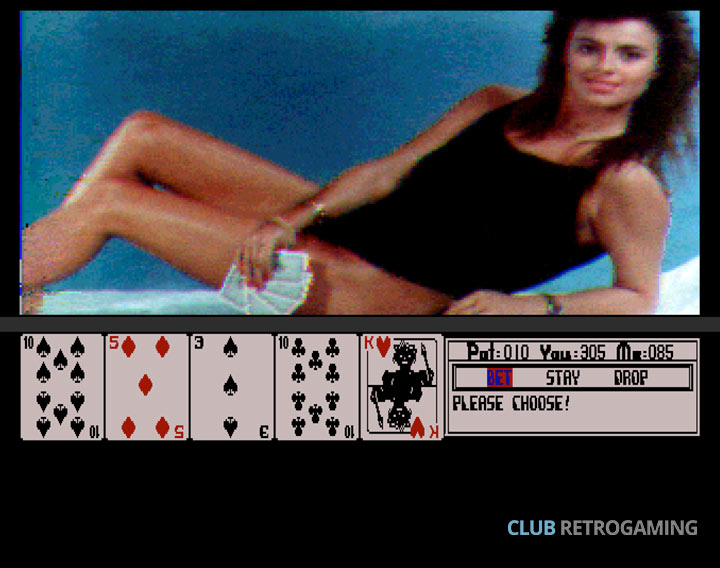 Club Retrogaming Hollywood Poker Amiga