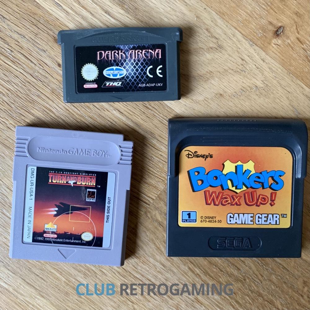 Jeux GameBoy, Advance et GameGear